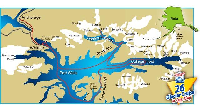 Glen McCarlie: Alaska visit   Glacier cruise 3